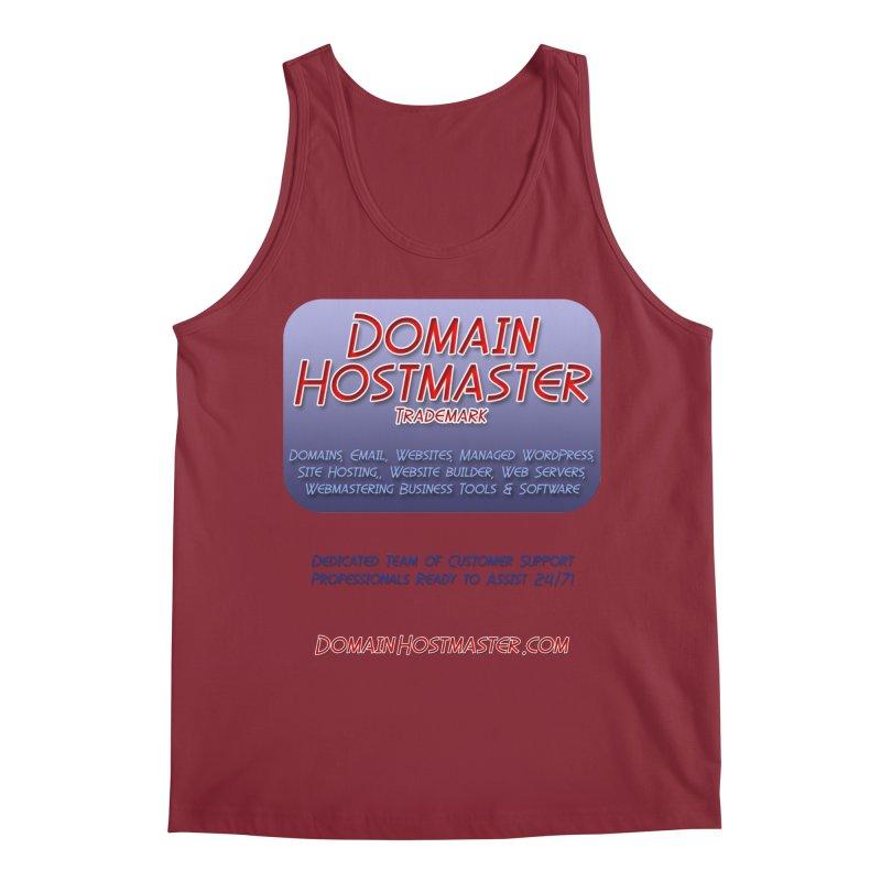 Domain Hostmaster Men's Regular Tank by Logo Gear & Logo Wear