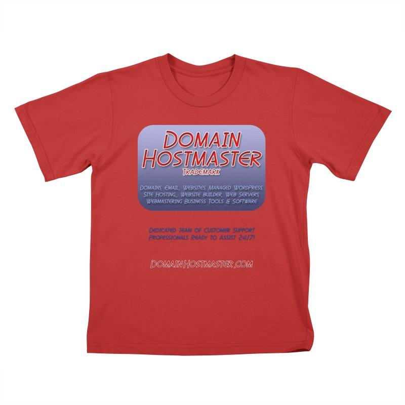 Domain Hostmaster Kids T-Shirt by Logo Gear & Logo Wear