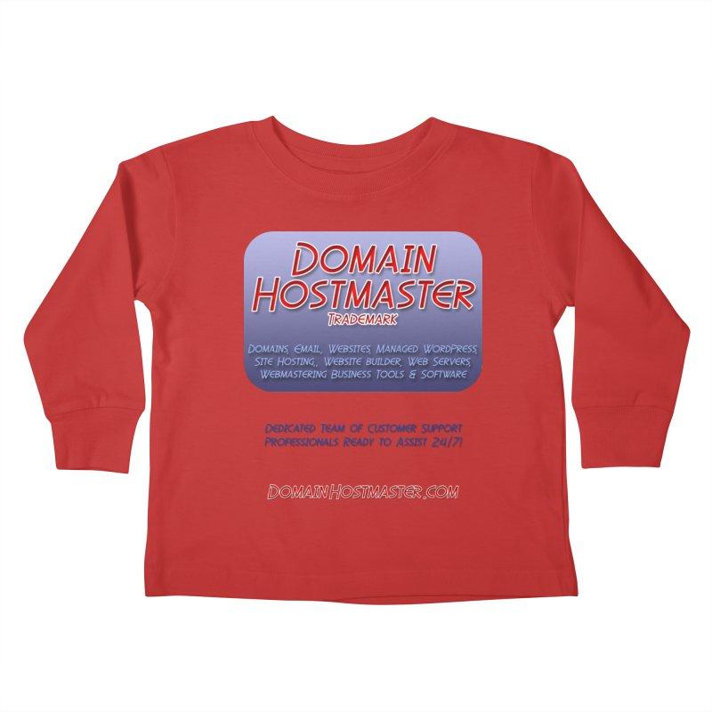 Domain Hostmaster Kids Toddler Longsleeve T-Shirt by Logo Gear & Logo Wear