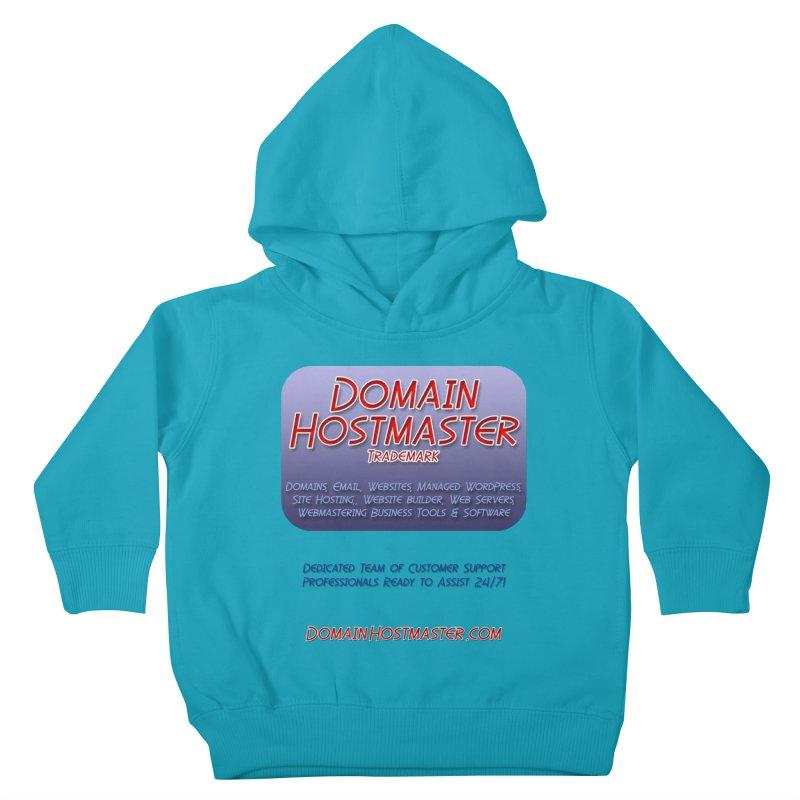 Domain Hostmaster Kids Toddler Pullover Hoody by Logo Gear & Logo Wear