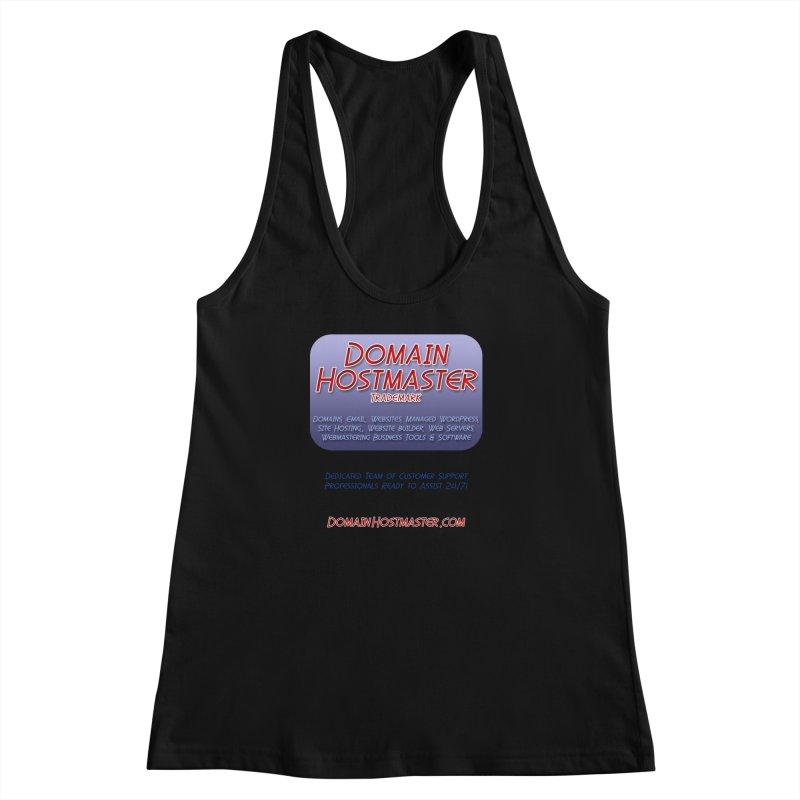 Domain Hostmaster Women's Racerback Tank by Logo Gear & Logo Wear