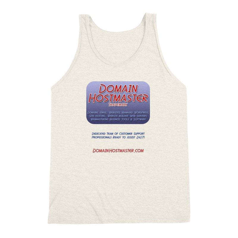 Domain Hostmaster Men's Triblend Tank by Logo Gear & Logo Wear