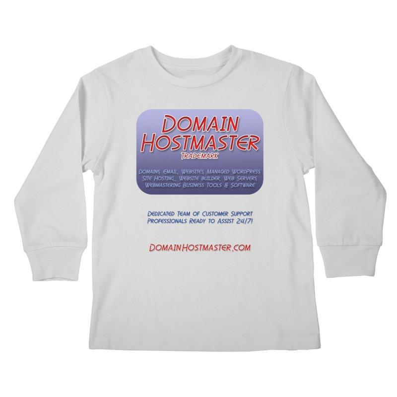 Domain Hostmaster Kids Longsleeve T-Shirt by Logo Gear & Logo Wear