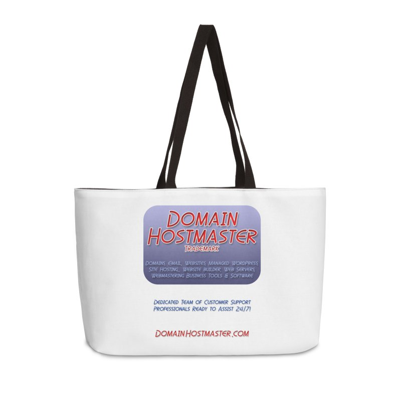 Domain Hostmaster Accessories Weekender Bag Bag by Logo Gear & Logo Wear