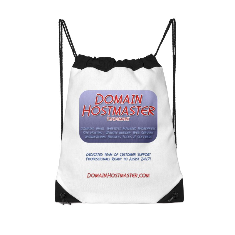 Domain Hostmaster Accessories Drawstring Bag Bag by Logo Gear & Logo Wear
