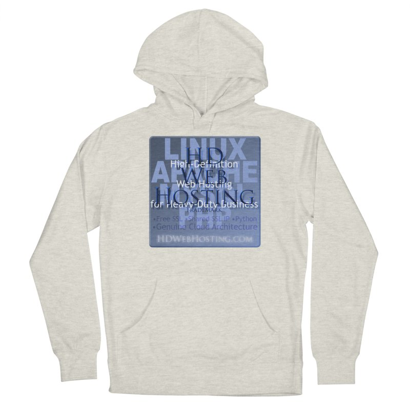 HD Web Hosting Women's French Terry Pullover Hoody by Logo Gear & Logo Wear