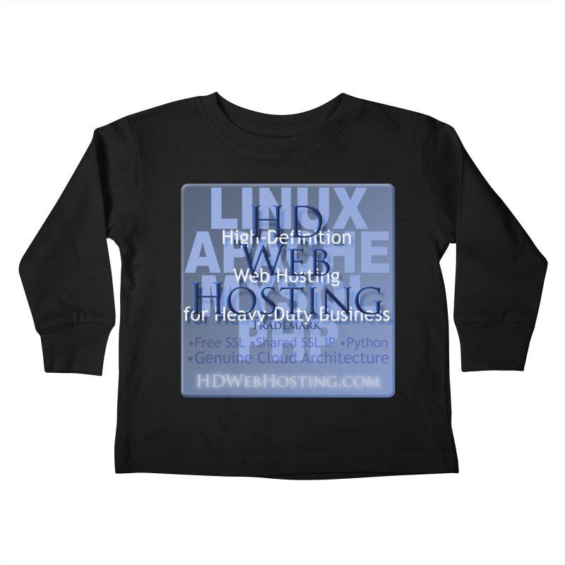 HD Web Hosting Kids Toddler Longsleeve T-Shirt by Logo Gear & Logo Wear