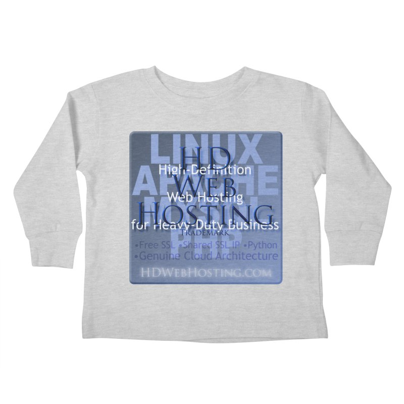 HD Web Hosting Kids Toddler Longsleeve T-Shirt by Logo Gear & Logo Wear
