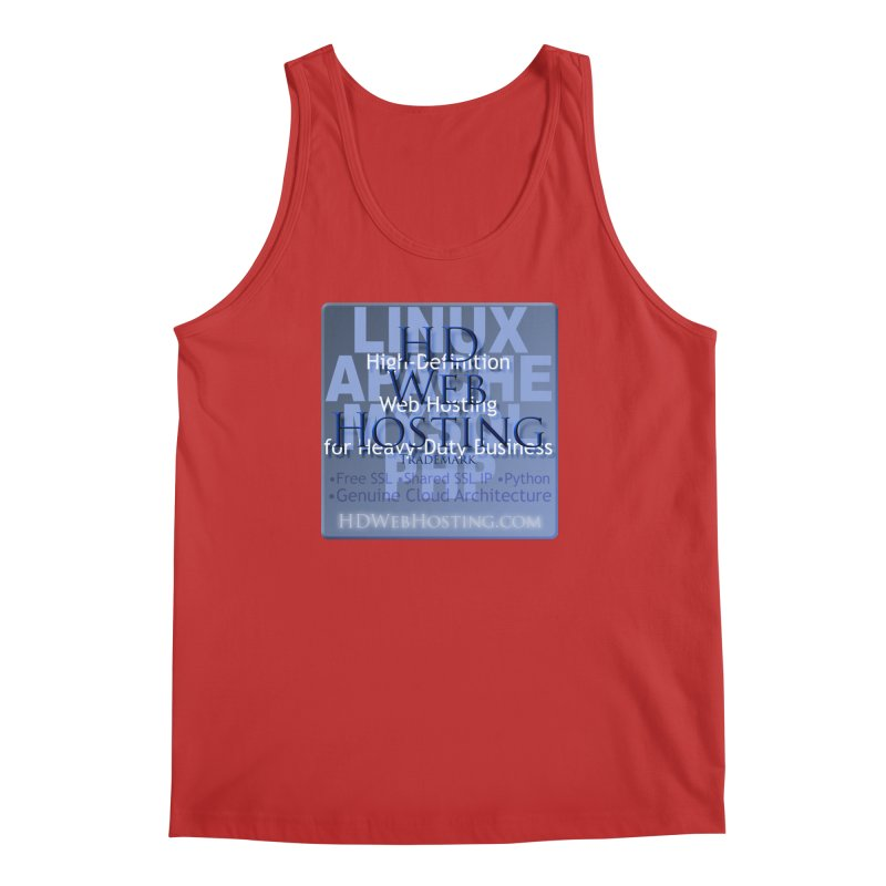 HD Web Hosting Men's Regular Tank by Logo Gear & Logo Wear