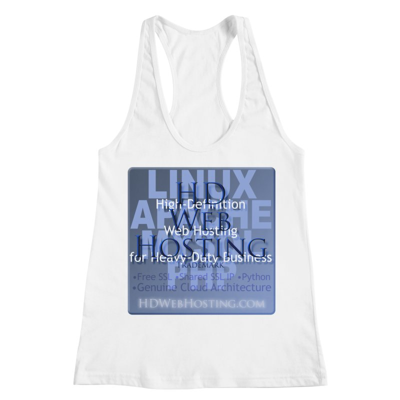 HD Web Hosting Women's Racerback Tank by Logo Gear & Logo Wear