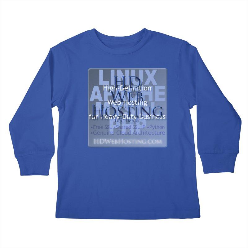 HD Web Hosting Kids Longsleeve T-Shirt by Logo Gear & Logo Wear