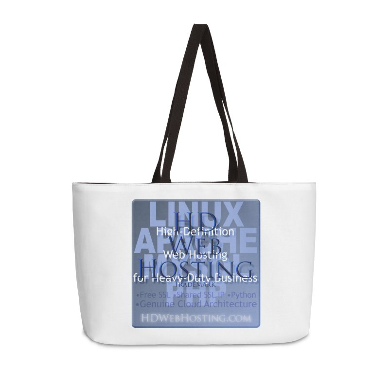 HD Web Hosting Accessories Weekender Bag Bag by Logo Gear & Logo Wear