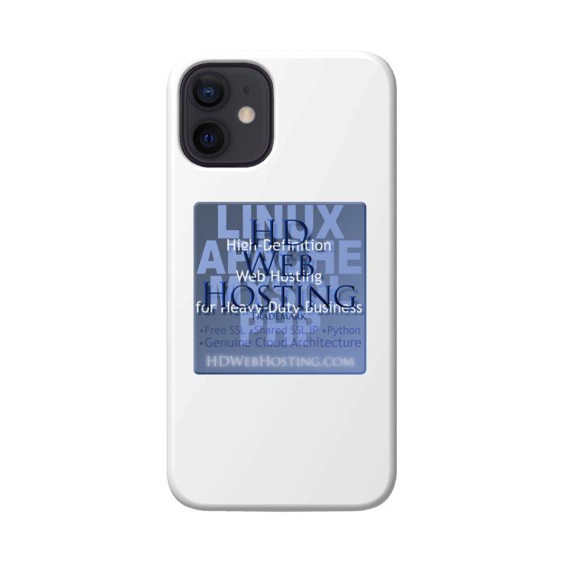 HD Web Hosting Accessories Phone Case by Logo Gear & Logo Wear