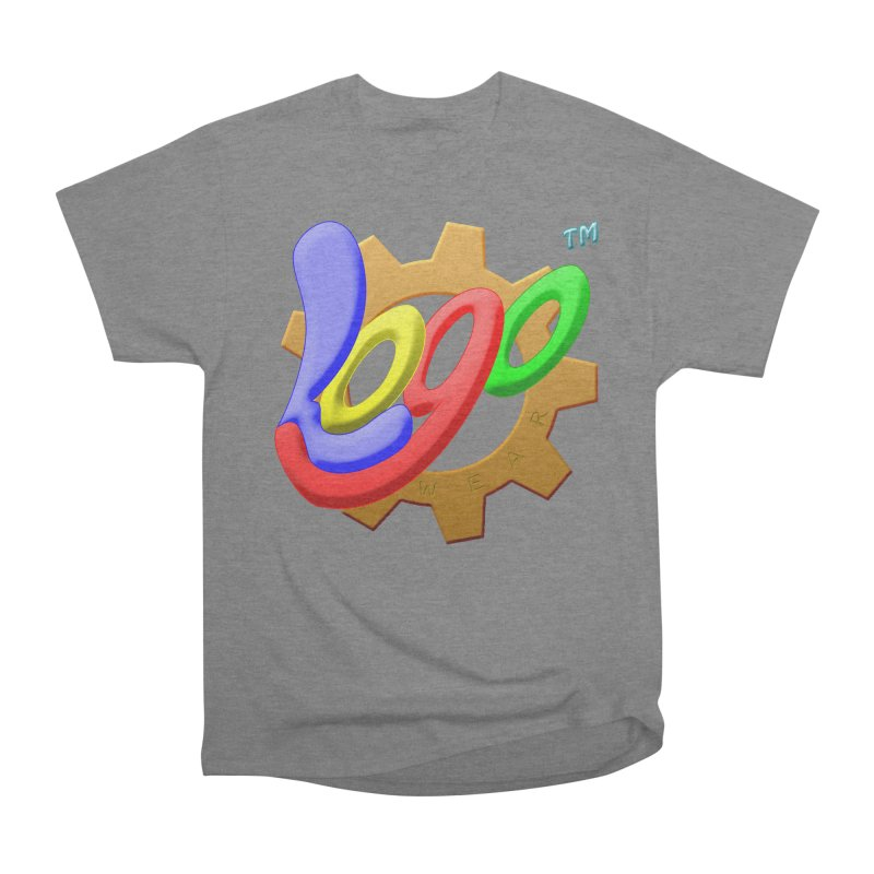 Logo Wear TM - for Wear & Gear Women's Heavyweight Unisex T-Shirt by Logo Gear & Logo Wear