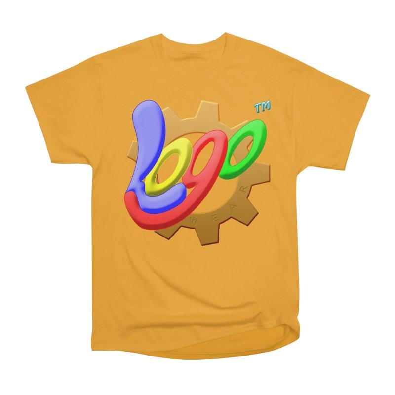 Logo Wear TM - for Wear & Gear Men's Heavyweight T-Shirt by Logo Gear & Logo Wear