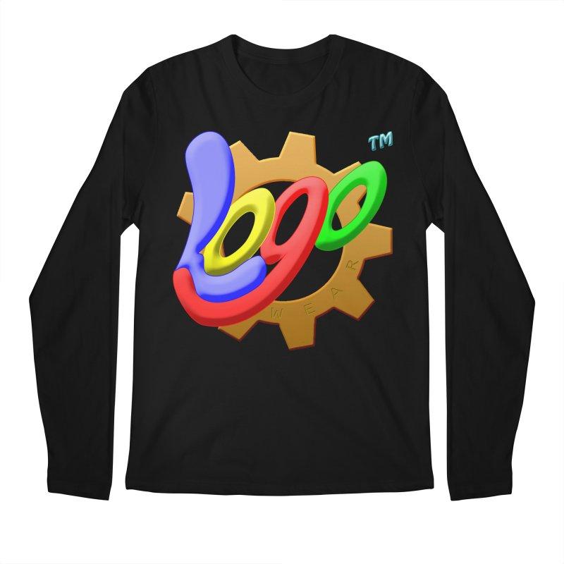 Logo Wear TM - for Wear & Gear Men's Regular Longsleeve T-Shirt by Logo Gear & Logo Wear