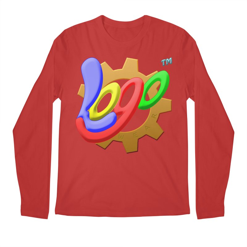 Logo Wear TM - for Wear & Gear Men's Regular Longsleeve T-Shirt by Logo Gear & Logo Wear