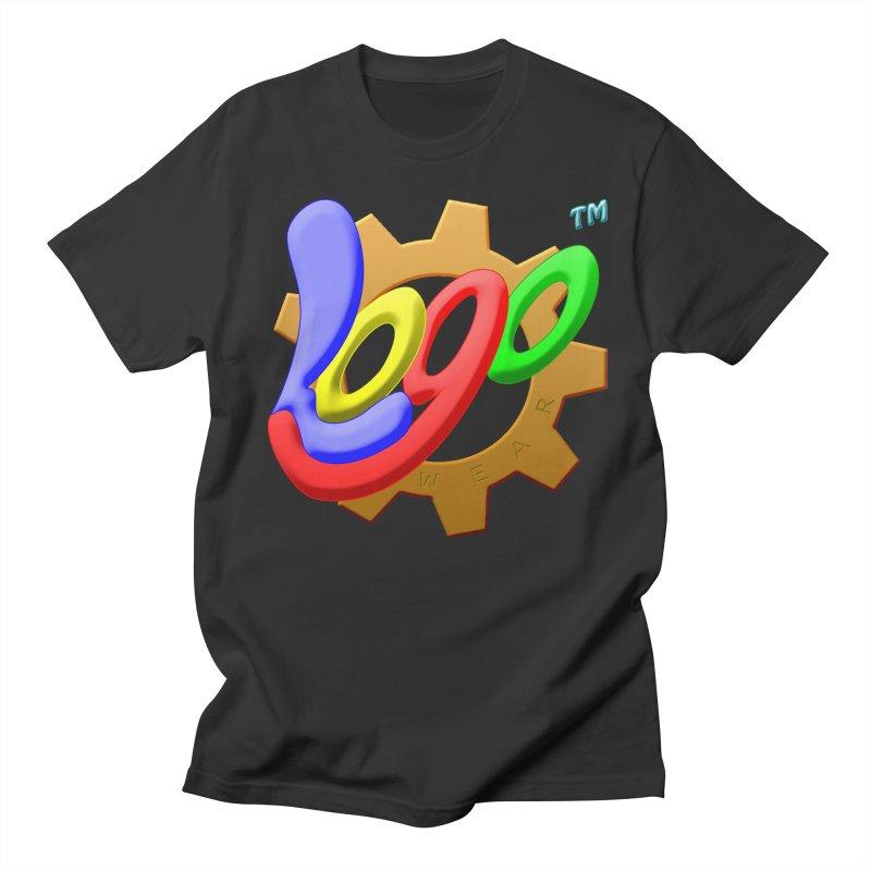 Logo Wear TM - for Wear & Gear Men's T-Shirt by Logo Gear & Logo Wear