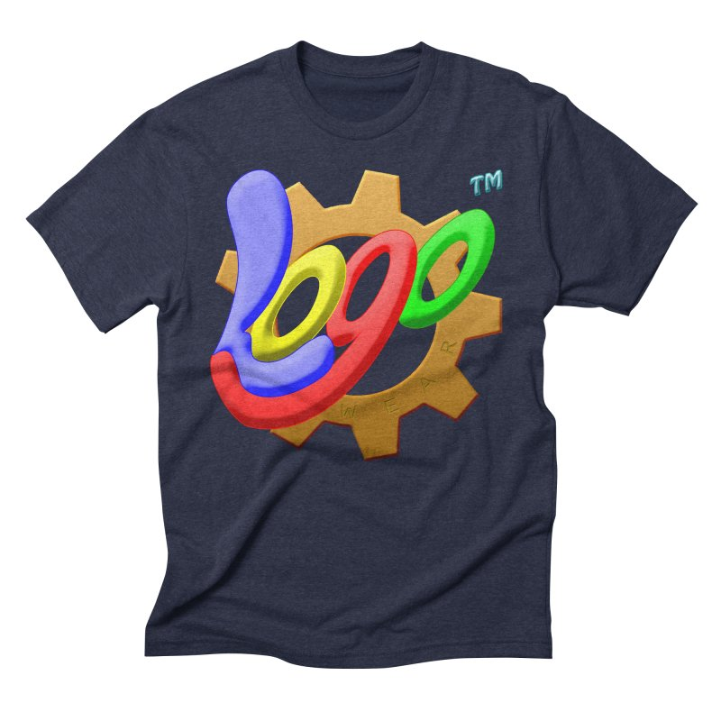 Logo Wear TM - for Wear & Gear Men's Triblend T-Shirt by Logo Gear & Logo Wear