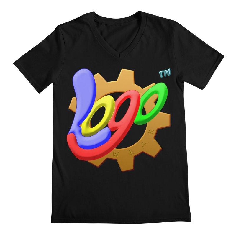 Logo Wear TM - for Wear & Gear Men's V-Neck by Logo Gear & Logo Wear