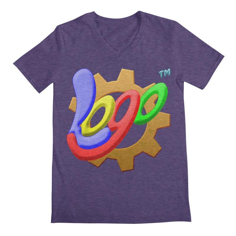 Logo Wear TM - for Wear & Gear Men's Regular V-Neck by Logo Gear & Logo Wear