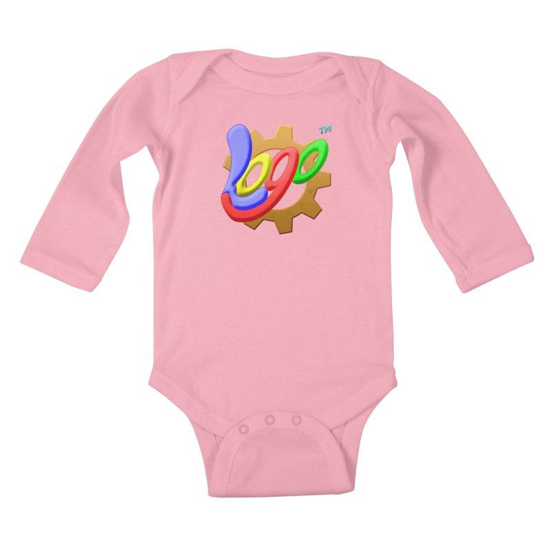 Logo Wear TM - for Wear & Gear Kids Baby Longsleeve Bodysuit by Logo Gear & Logo Wear