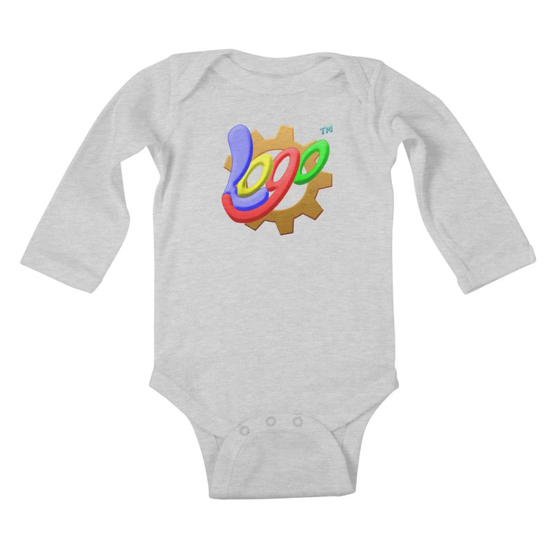 Logo Wear TM - for Wear & Gear Kids Baby Longsleeve Bodysuit by Logo Gear & Logo Wear