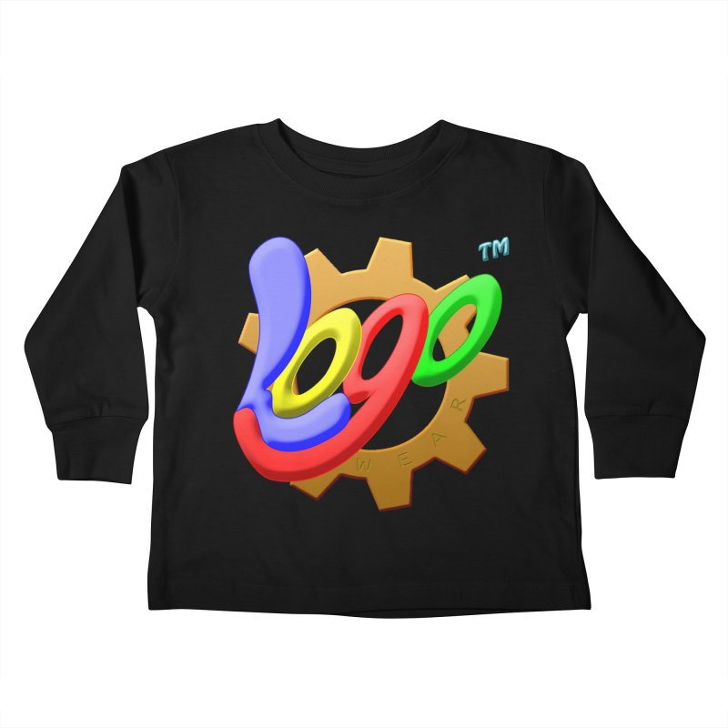 Logo Wear TM - for Wear & Gear Kids Toddler Longsleeve T-Shirt by Logo Gear & Logo Wear