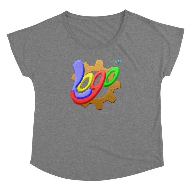 Logo Wear TM - for Wear & Gear Women's Dolman Scoop Neck by Logo Gear & Logo Wear