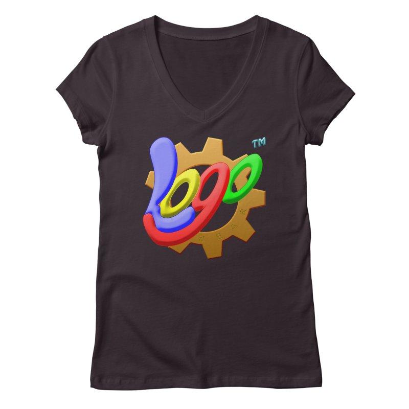 Logo Wear TM - for Wear & Gear Women's V-Neck by Logo Gear & Logo Wear