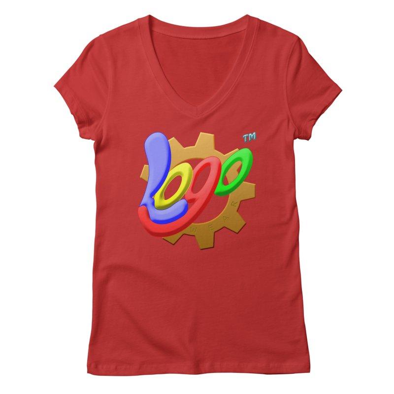 Logo Wear TM - for Wear & Gear Women's Regular V-Neck by Logo Gear & Logo Wear