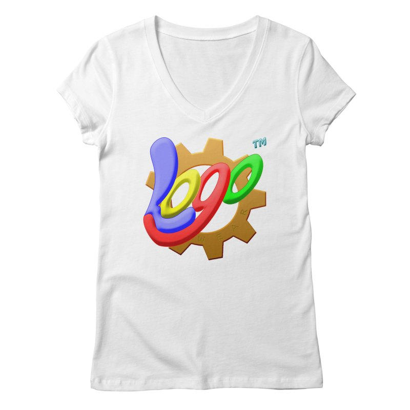 Logo Wear TM - for Wear & Gear Women's Regular V-Neck by Logo Gear & Logo Wear