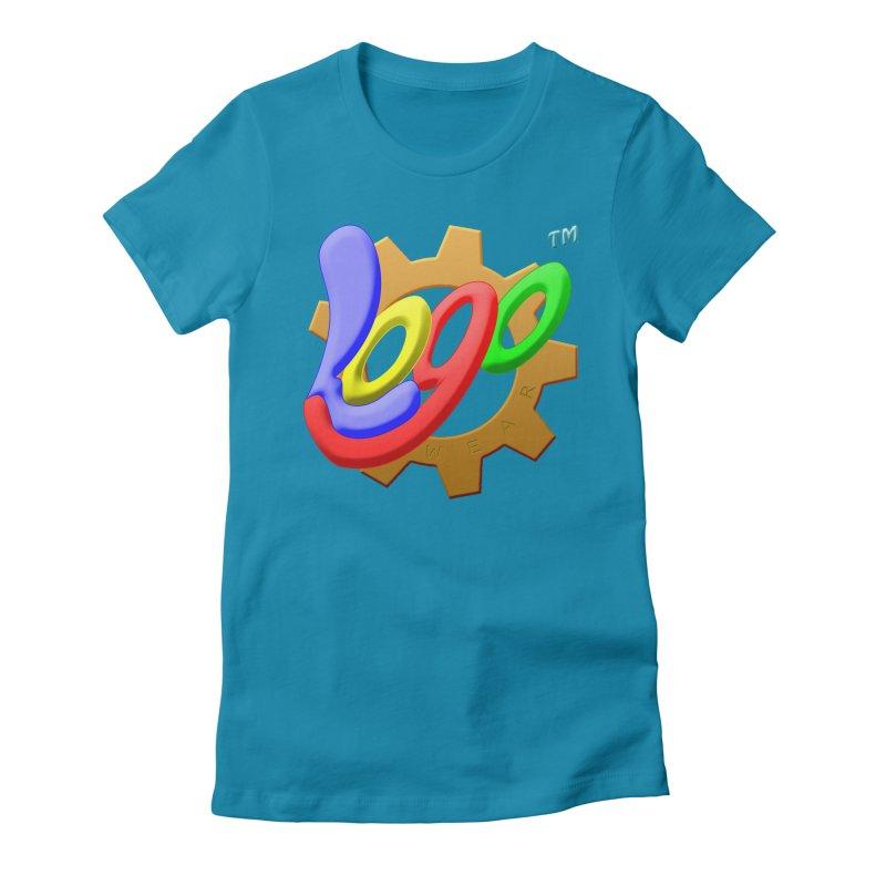 Logo Wear TM - for Wear & Gear Women's Fitted T-Shirt by Logo Gear & Logo Wear