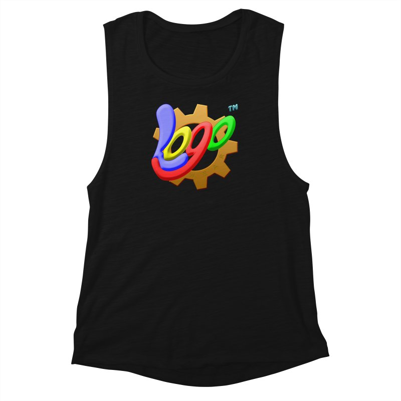 Logo Wear TM - for Wear & Gear Women's Muscle Tank by Logo Gear & Logo Wear