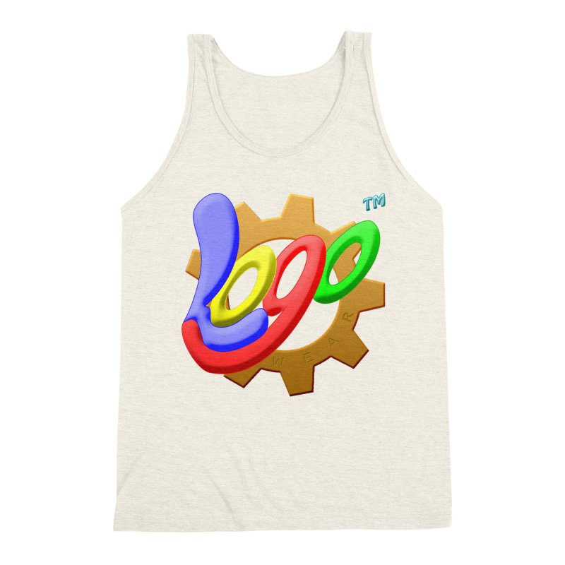 Logo Wear TM - for Wear & Gear Men's Triblend Tank by Logo Gear & Logo Wear