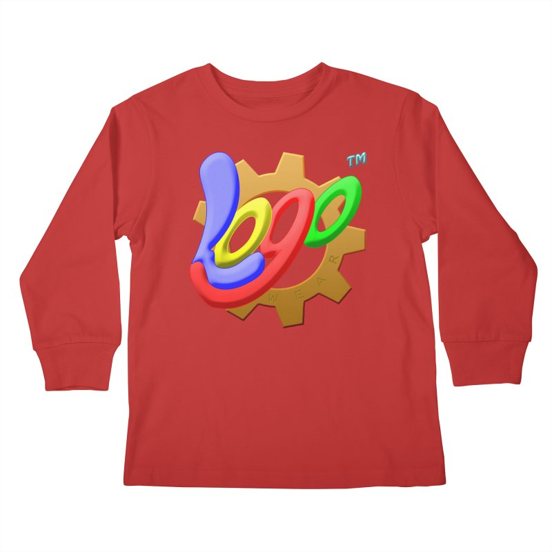 Logo Wear TM - for Wear & Gear Kids Longsleeve T-Shirt by Logo Gear & Logo Wear