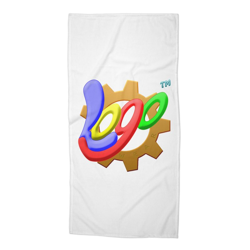 Logo Wear TM - for Wear & Gear Accessories Beach Towel by Logo Gear & Logo Wear