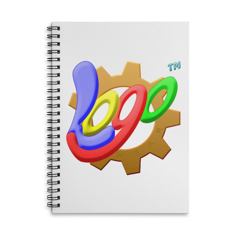 Logo Wear TM - for Wear & Gear Accessories Lined Spiral Notebook by Logo Gear & Logo Wear