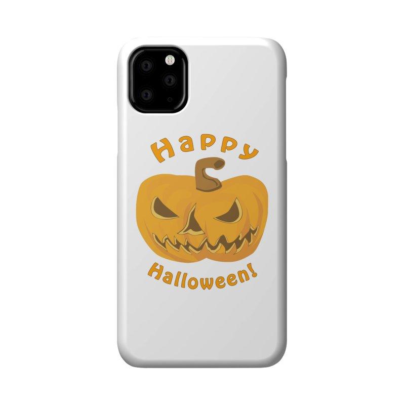 Happy Halloween Pumpkin Accessories Phone Case by Logo Gear & Logo Wear