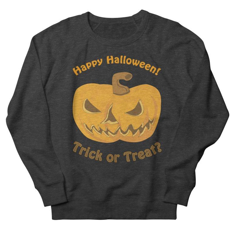 Happy Halloween Pumpkin Women's Sweatshirt by Logo Gear & Logo Wear