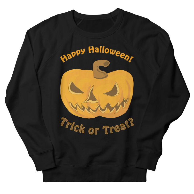 Happy Halloween Pumpkin Men's Sweatshirt by Logo Gear & Logo Wear
