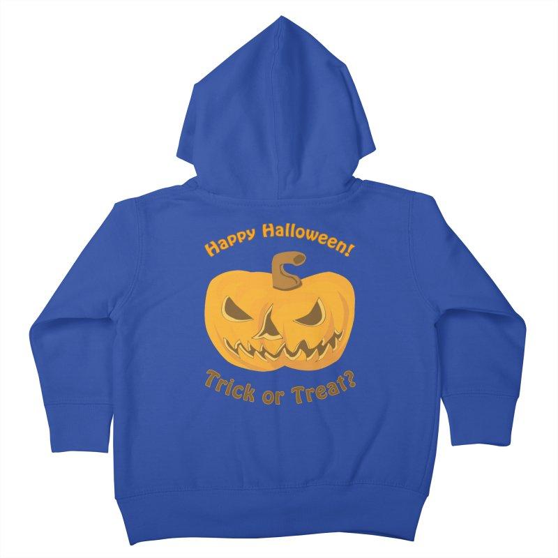 Happy Halloween Pumpkin Kids Toddler Zip-Up Hoody by Logo Gear & Logo Wear