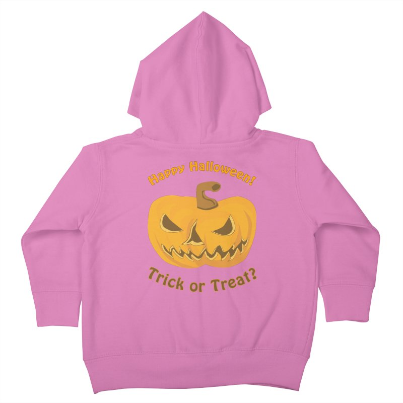 Happy Halloween Pumpkin Kids Toddler Zip-Up Hoody by Logo Gear & Logo Wear