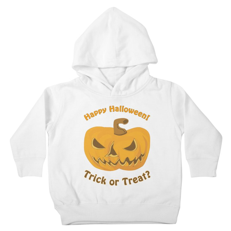 Happy Halloween Pumpkin Kids Toddler Pullover Hoody by Logo Gear & Logo Wear