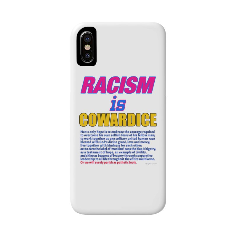 Racism is Cowardice Accessories Beach Towel by Logo Gear & Logo Wear