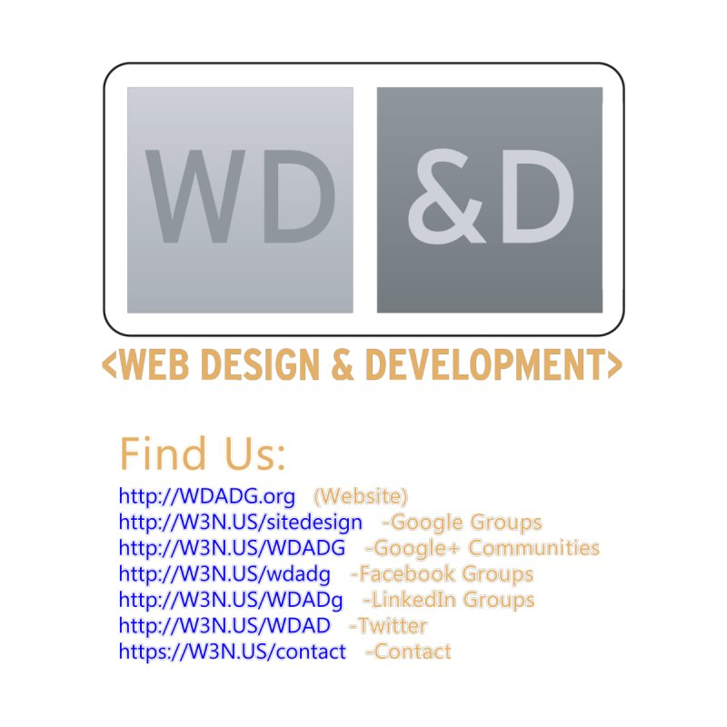 [WD&D] Web Design and Development group (SiteDesign) by Logo Gear & Logo Wear