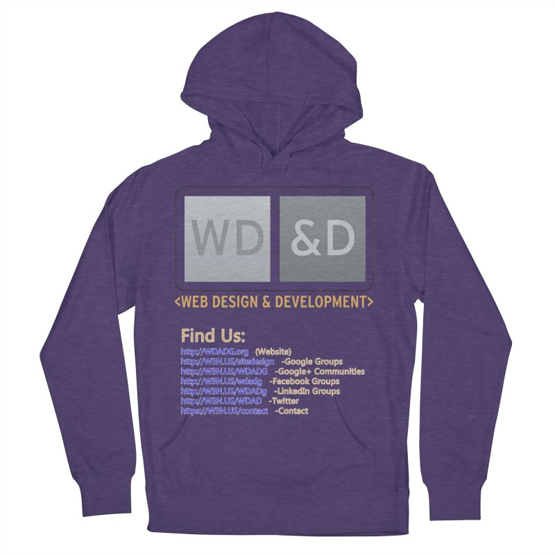 [WD&D] Web Design and Development group (SiteDesign) Women's French Terry Pullover Hoody by Logo Gear & Logo Wear