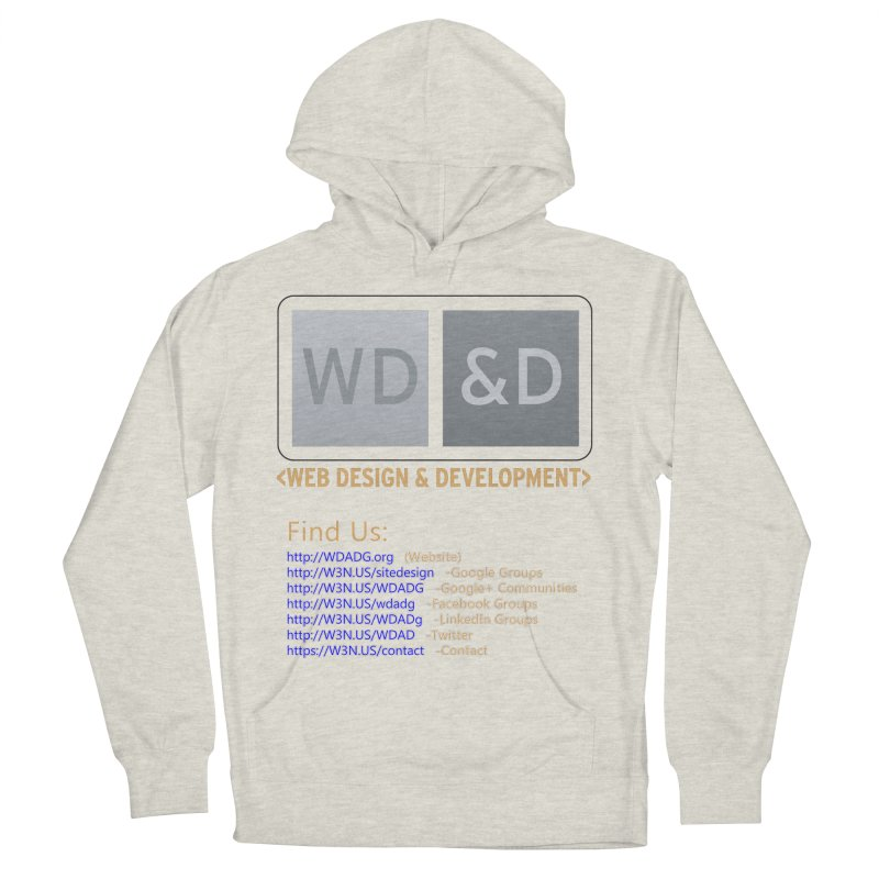 [WD&D] Web Design and Development group (SiteDesign) Women's Pullover Hoody by Logo Gear & Logo Wear