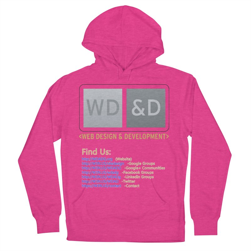 [WD&D] Web Design and Development group (SiteDesign) Men's French Terry Pullover Hoody by Logo Gear & Logo Wear