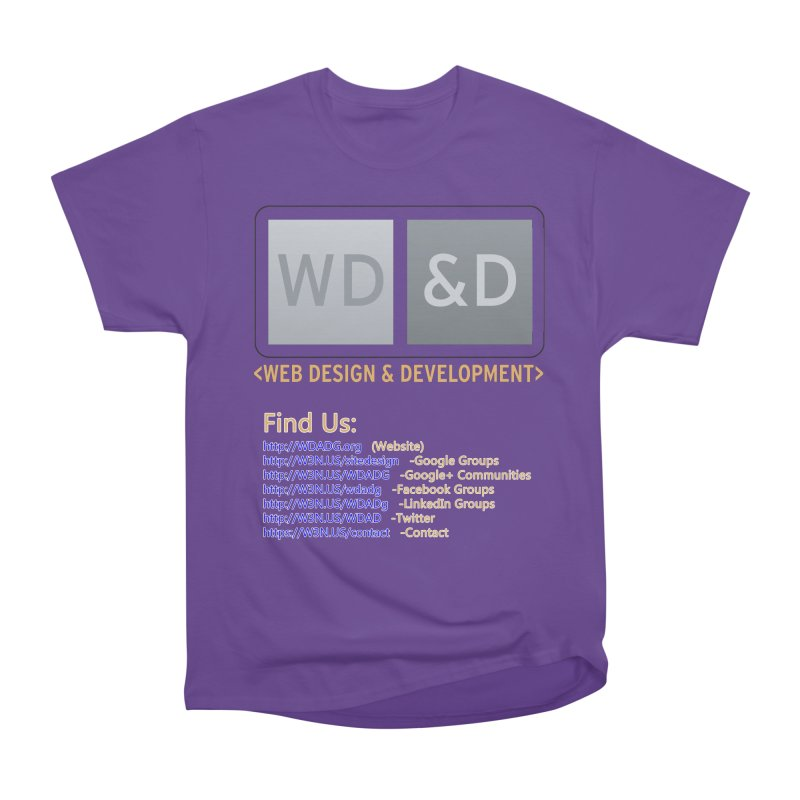 [WD&D] Web Design and Development group (SiteDesign) Women's Heavyweight Unisex T-Shirt by Logo Gear & Logo Wear